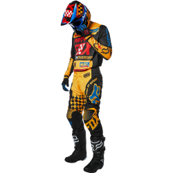 FOX 180 CZAR BLACK/YELLOW GEAR SETS