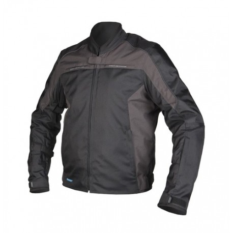 REBELHORN PRIME BLACK GREY TEXTILE JACKET
