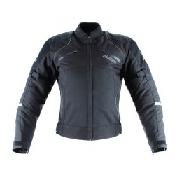 REBELHORN LADY QUATTRO BLACK TEXTILE JACKET
