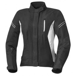 IXS ALANA EVO LADY BLACK/WHITE JACKET