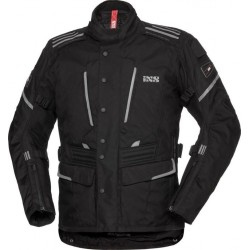 IXS POWELLS-ST LADY SOLO-TEX BLACK JACKET