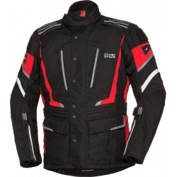KURTKA IXS POWELLS-ST SOLO-TEX BLACK/WHITE/RED