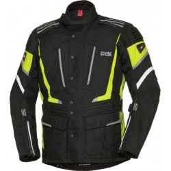 KURTKA IXS POWELLS-ST SOLO-TEX BLACK/YELLOW