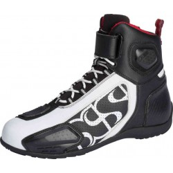 BUTY IXS RS-400 SHORT BLACK/WHITE