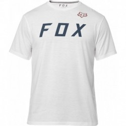 T-SHIRT FOX GRIZZLED TECH OPTIC WHITE S