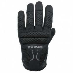 IXS LADY SAMUR EVO BLACK GLOVES