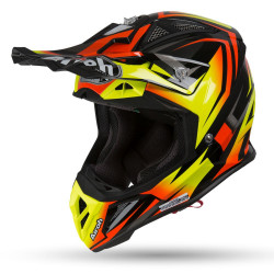 AIROH AVIATOR 2.3 AMSS FAME HELMET ORANGE MATT