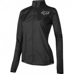 FOX LADY ATTACK WIND JACKET BLACK