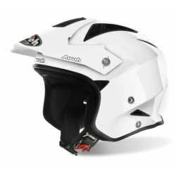 KASK AIROH TRR S COLOR WHITE GLOSS