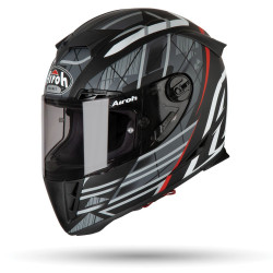 KASK AIROH GP 500 DRIFT BLACK GLOSS S