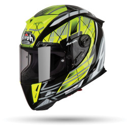 KASK AIROH GP 500 DRIFT YELLOW GLOSS S