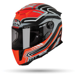 KASK AIROH GP 500 RIVAL ORANGE MATT