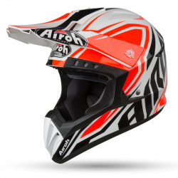 KASK AIROH SWITCH IMPACT ORANGE GLOSS