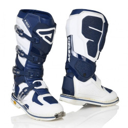 ACERBIS X-ROCK BOOTS BLUE/WHITE