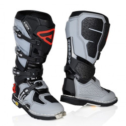 ACERBIS X-ROCK BOOTS BLACK/GREY