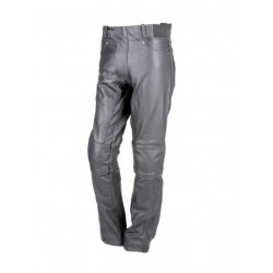 LEATHER TROUSERS REBELHORN RUNNER BLAC