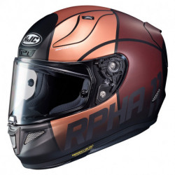 KASK HJC R-PHA-11 QUINTAIN BROWN/BLACK S