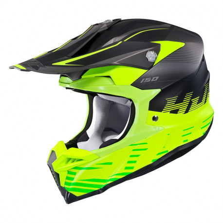 KASK HJC I50 FURY BLACK/GREEN S