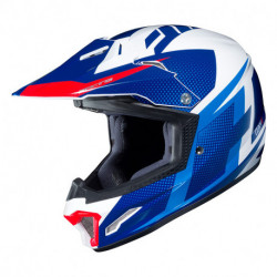 KASK HJC JUNIOR CL-XY II ARGOS WHITE/BLUE S