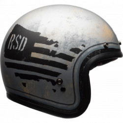 KASK BELL CUSTOM 500 DLX SPECIAL EDITION RSD 74 BLACK/SILVER