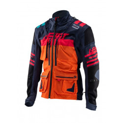 LEATT GPX 5.5. ENDURO JACKET INK/ORANGE