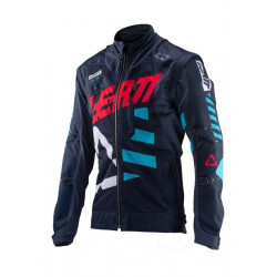 LEATT GPX 4.5 X-FLOW JACKET INK/BLUE