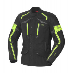 KURTKA IXS MONTGOMERY LADY GORE-TEX BLACK/YELLOW