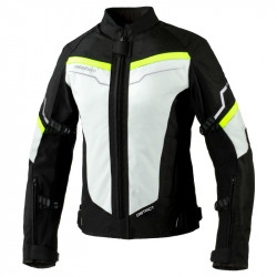 REBELHORN DISTRICT LADY ICE/BLACK/FLUO YELLOW JACKET