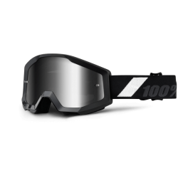 100% STRATA GOLIATH GOGGLES - MIRRORED LENS