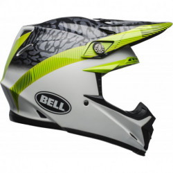 KASK BELL MOTO-9 MIPS CHIEF BLACK/WHITE/GREEN