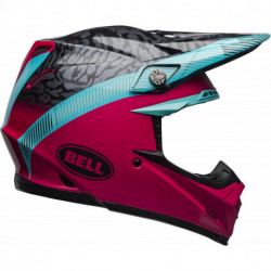 KASK BELL MOTO-9 MIPS CHIEF BLACK/PINK/BLUE
