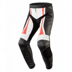 REBELHORN PISTON II PRO PANTS BLACK/WHITE/FLO RED