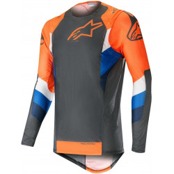 ALPINESTARS SUPERTECH black/fluo/orange JERSEY