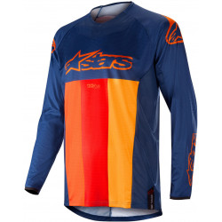 ALPINESTARS TECHSTAR VENOM red/blue/orange JERSEY