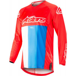 ALPINESTARS TECHSTAR VENOM white/red/blue JERSEY