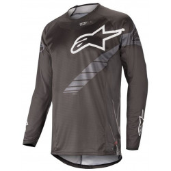 ALPINESTARS TECHSTAR GRAPHITE black JERSEY