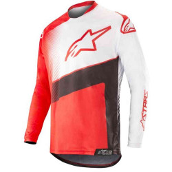 ALPINESTARS RACER SUPERMATIC white/black/red JERSEY