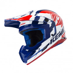 KASK KENNY TRACK NAVY WHITE RED 2019