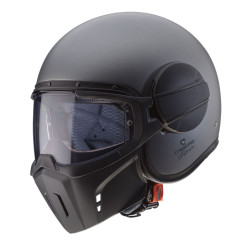 CABERG GHOST GUN METAL GREY MATT HELMET