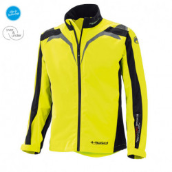 KURTKA TEKSTYLNA HELD LADY RAINBLOCK TOP BLACK/FLUO YELLOW