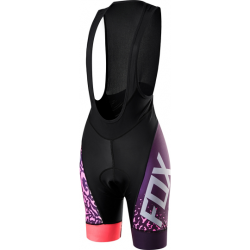 SPODENKI FOX LADY SWITCHBACK COMP BIB PLUM