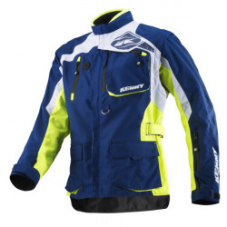KENNY TITANIUM YELLOW BLUE JACKET ENDURO 2019