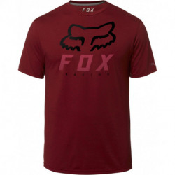 T-SHIRT FOX HERITAGE FORGER TECH RED