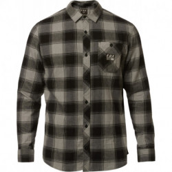 KOSZULA FOX LONGVIEW LTWT FLANNEL HEATHER GRAPHITE