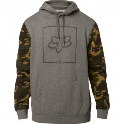 BLUZA FOX Z KAPTUREM CHAPPED CAMO HEATHER GRAPHITE