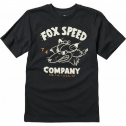 T-SHIRT FOX JUNIOR BOMBER BLACK