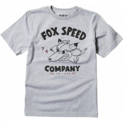 T-SHIRT FOX JUNIOR BOMBER LIGHT HEATHER GREY