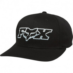 CZAPKA Z DASZKIEM FOX JUNIOR DUELHEAD FLEXFIT BLACK/BLUE YOS
