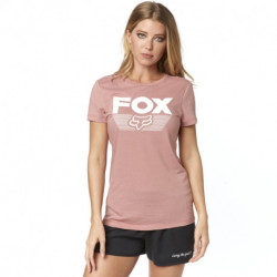 T-SHIRT FOX LADY ASCOT BLUSH