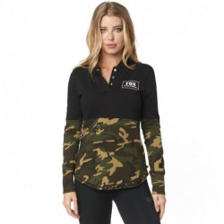 BLUZA FOX LADY Z KAPTUREM SATELLITE CAMO